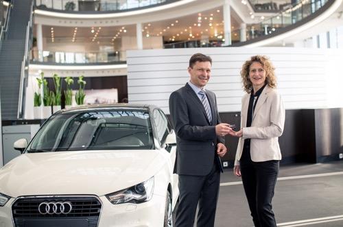 Audi A1 fuer JVA Adelsheim
