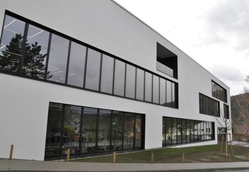 DHBW MOS Neubau von Straße 2