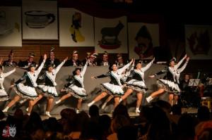 Marschtanz der Tänzerinnen der Zunft