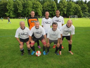 Das AH-Blitzturnier gewann die Mannschaft des TSV Billigheim. (Foto: W. Karg)