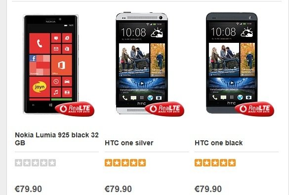 Lumia 925 on pre-order enters into Vodafone Germany's top ...
