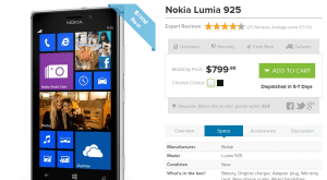 Lumia 925 australia mobicity