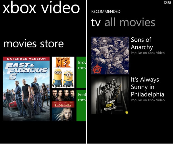 Xbox-Video_movie-store