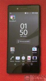 Test sony mobile xperia z5 face avant