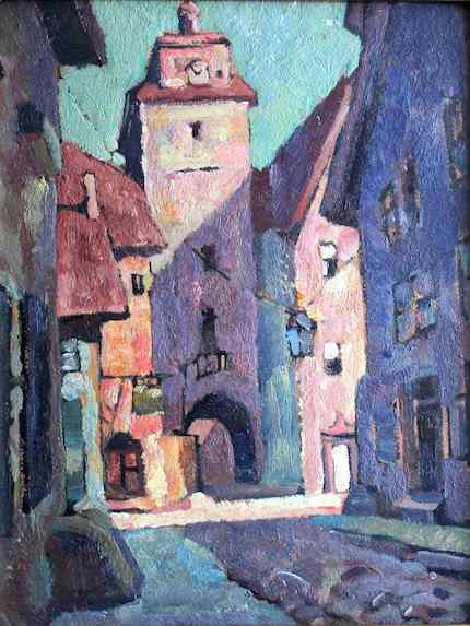 NSL_Hopper Years_Munich_Street_Vaclav_Vytlacil