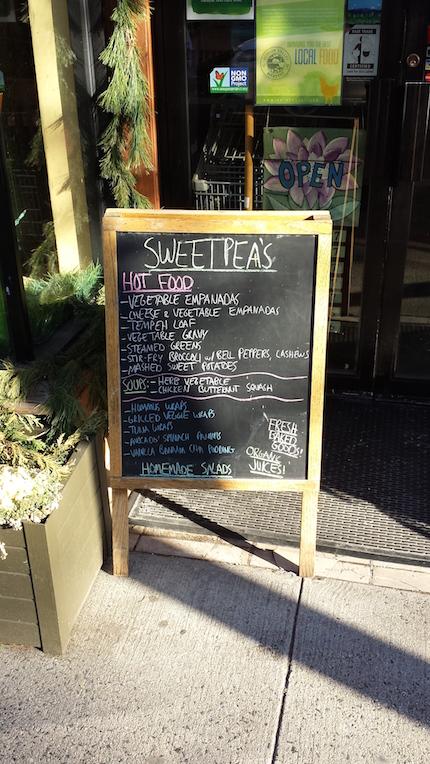 NSL_Sweetpea's Market Sign