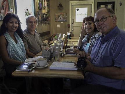 Art Cafe Writers workshop