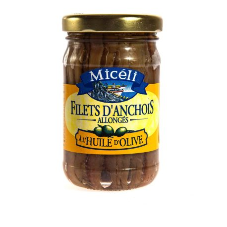 Anchovies in a jar