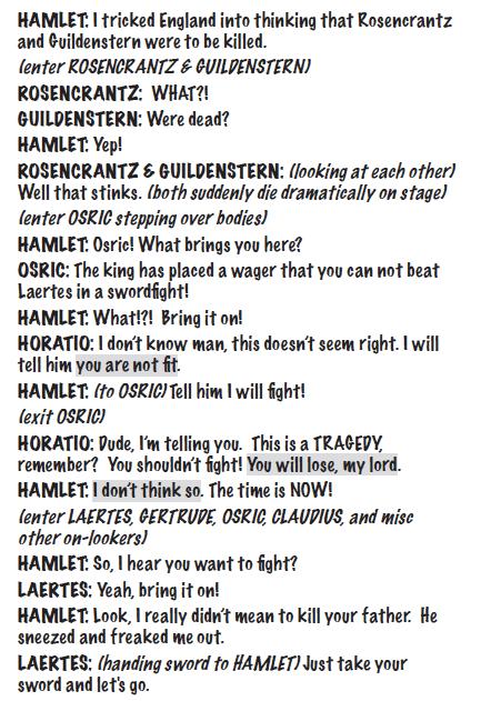 hamlet for kids script sample 3