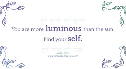 The Luminous Self