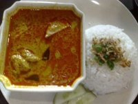 PRAWN CURRY RICE (PARSEE STYLE)