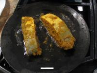 How to fry fish the parsi way.