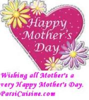 To all our Mothers who cook to make the happy foods! Memories and Love ever lasting - Happy Mother's Day!