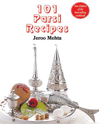 Cookbook: 101 Parsi Recipes by Jeroo Mehta Luganno Saas recipe