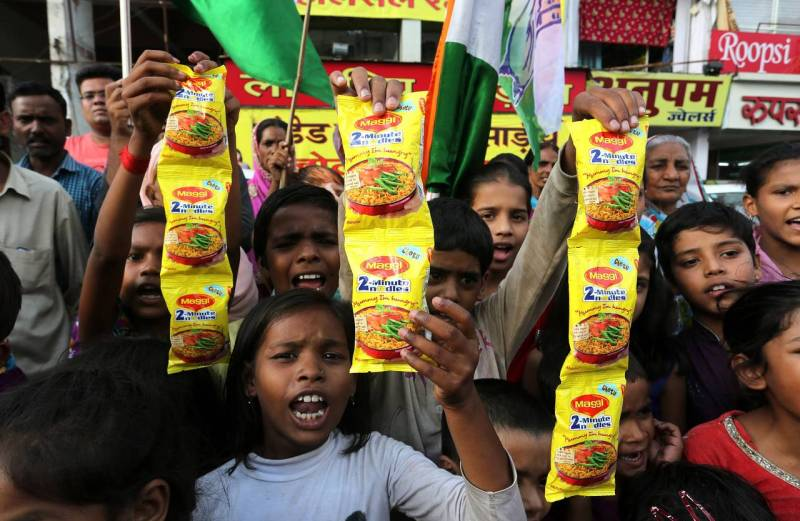 Nestlé Challenges India Ban on Maggi Noodles