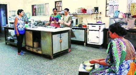 Zoroastrian Ladies Co-operative society in Ahmedabad.