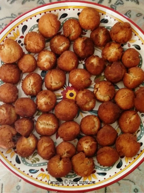 Enjoy Parsi Bhakra with Tea. If you like Doughnuts you will like these - Perfect Snack anytime! Made with Beer, Wheat Flour, Eggs, Cardamon and Vanilla. $12 per dozen