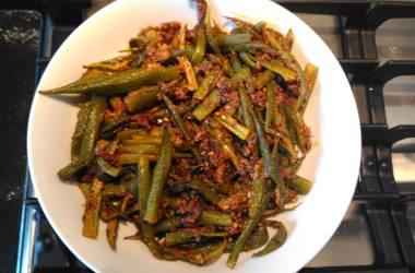 Dry Bhindi (Okra)