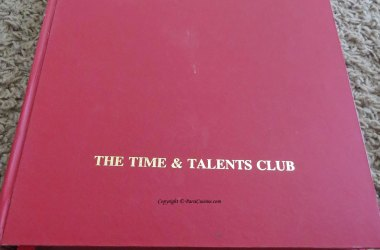 Time & Talents Club Recipe Book