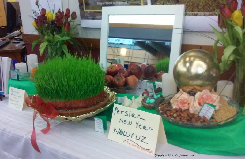 Persian New Year Nowruz: Haft Seen Table