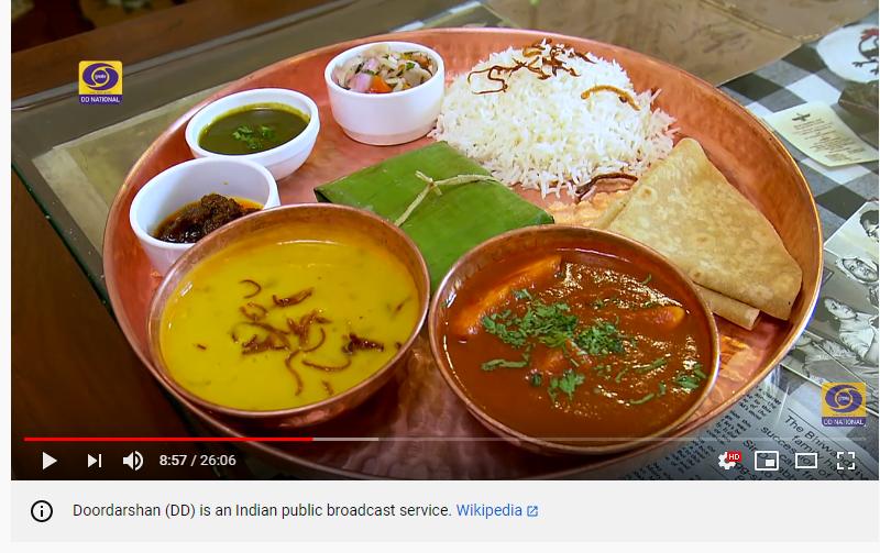 Vegetarian and Non-Vegetarian Parsi Food