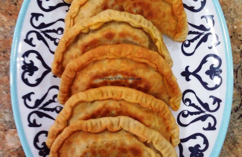 Kheema Meat Empanadas