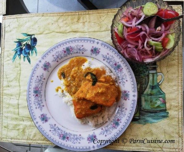 Fish Curry Chawal