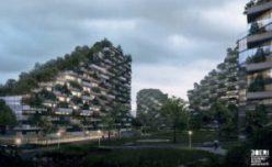 Liuzhou-Forest-City-grounds