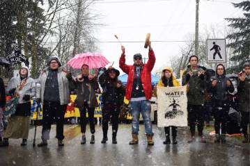 Anti Trans Mountain Rally Protect the inlet 2018