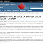 Director Of Public Prosecutions Canada SNC
