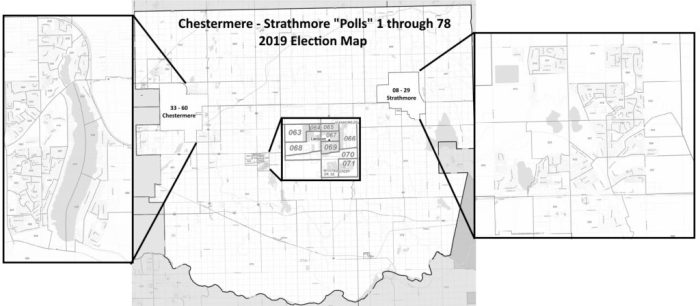 Chestermere Strathmore Polls Map 2019 Alberta Provincial Election