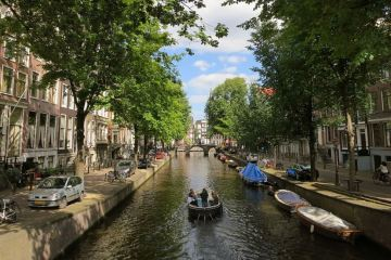 Netherlands Canals - No Railings