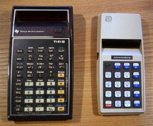 Texas Instruments vs Commodore Calculators 1975