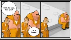 lawyer in prison joke