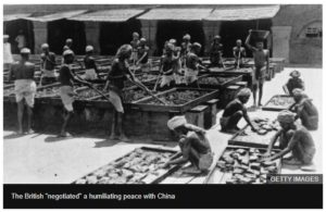 Britain China First Opium War Settlement