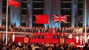 China Hong Kong Handover