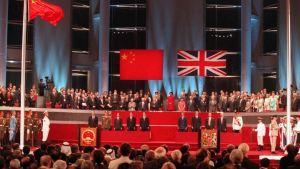 China Hong Kong Handover