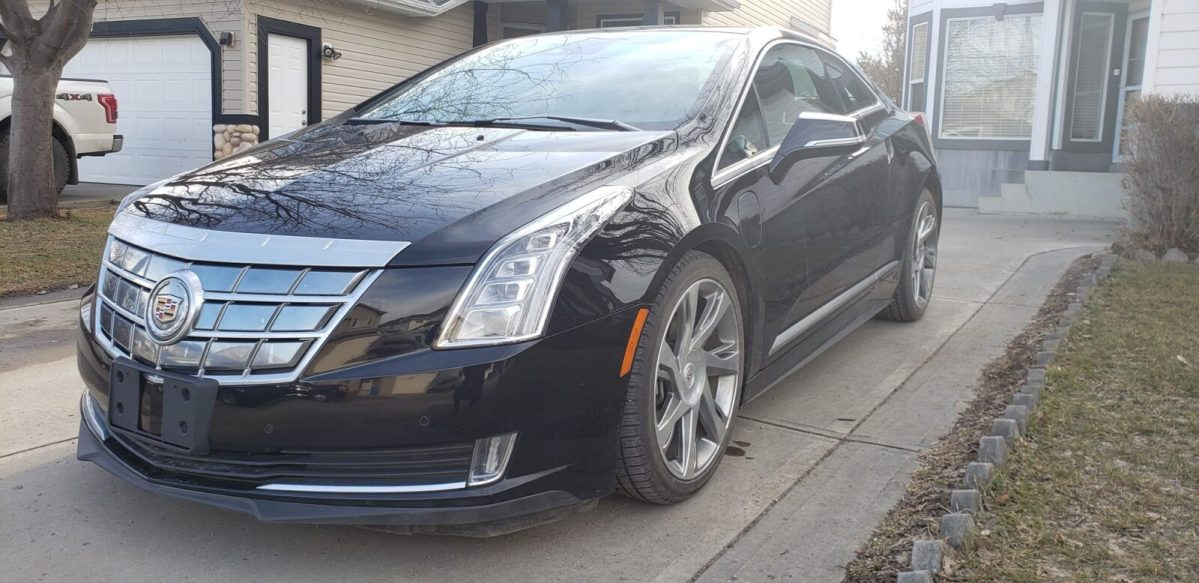 2014 Cadillac ELR drivers side front