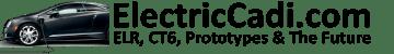 ElectricCadi brand slogan ELR CT6 Prototypes Future 360x50
