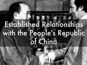 PE Trudeau Mao Tse Tung