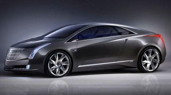 Cadillac Converj Concept PHEV - front side