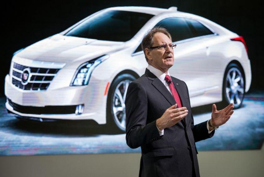 Cadillac head Johan de Nysschen - ELR