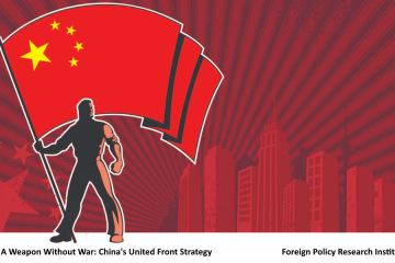 United Front Flag China War UF Policy