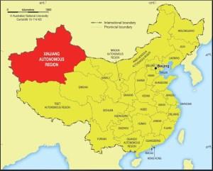 xinjiang china autonomous region