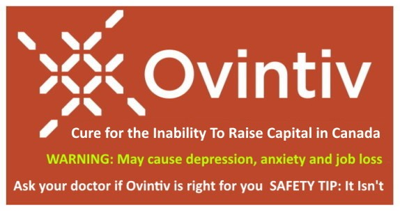Encana Ovintinv - Cure for Inability to Raise Capital in Canada
