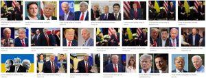 biden ukraine trump impeachment images