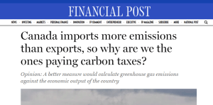 Canada Imports More Emissions than it Exports - National Post