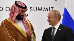 Mohammed Bin Salman Vladimir Putin