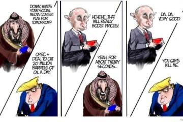putin mbs trump oil cuts