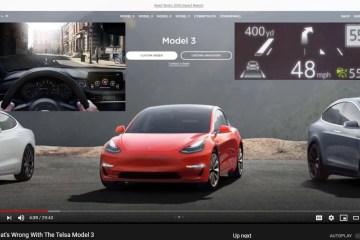 Telsa Model 3 Shortcomings